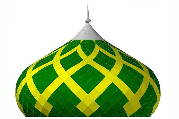 Kubah Masjid ACP, Inilah Hal Yang Harus Anda Tahu