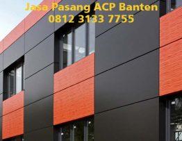 Harga Pasang ACP Banten