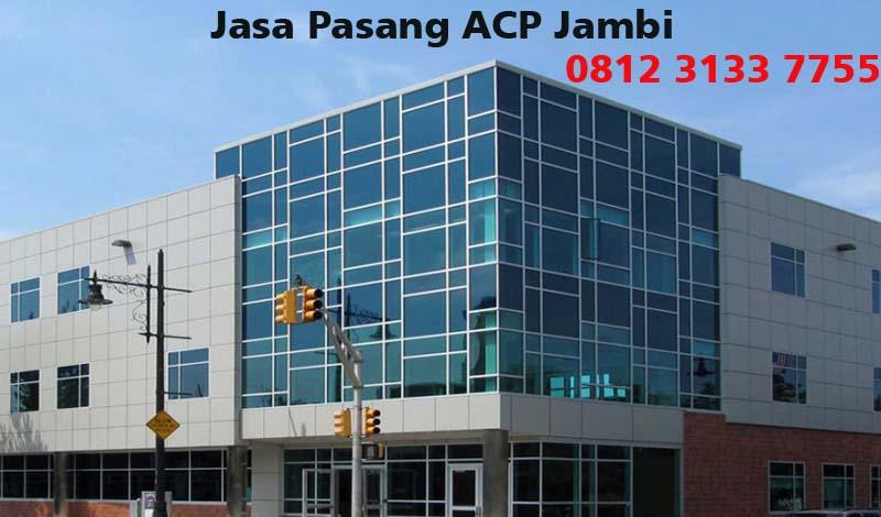 Harga Jasa Pasang ACP di Jambi
