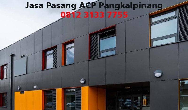 Harga Jasa Pasang ACP di Pangkalpinang