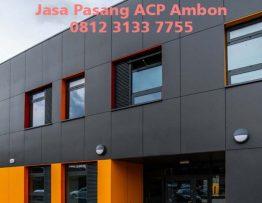Harga Pasang ACP Ambon