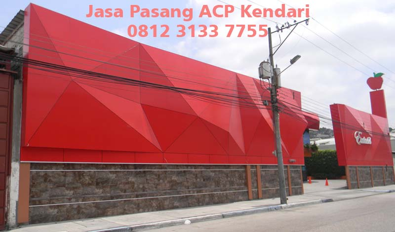 Harga Jasa Pasang ACP di Kendari