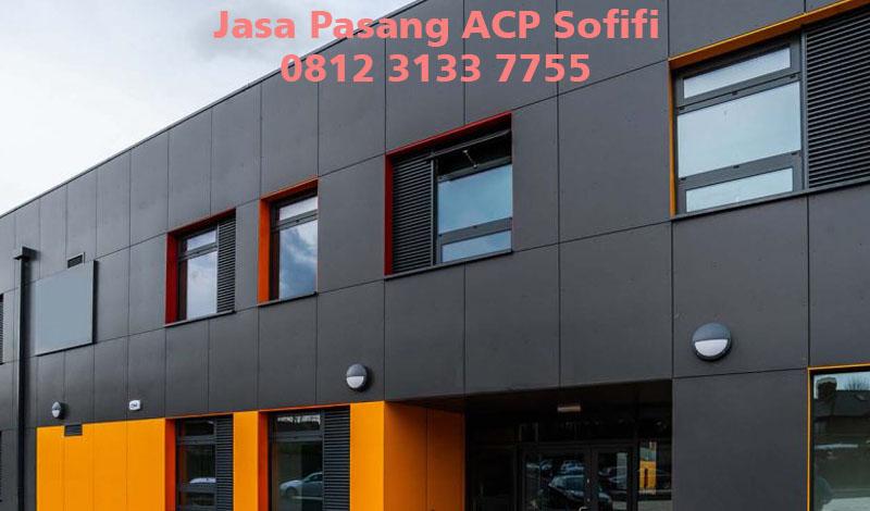 Harga Jasa Pasang ACP di Sofifi