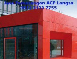 Jasa Pemasangan ACP Langsa