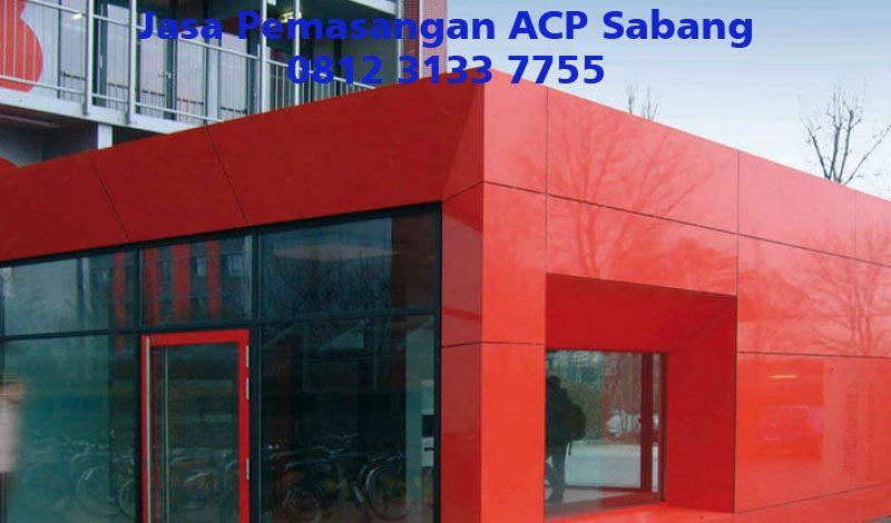 Jasa Pemasangan ACP Sabang