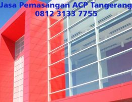 Jasa Pemasangan ACP Tangerang